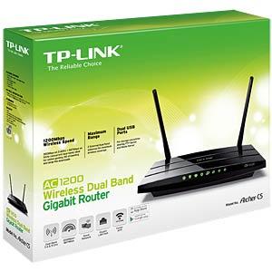WLAN Dualband Gigabit Router, 1200 MBit/s TP-LINK ARCHER C5 V2