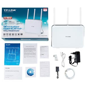 AC750-Dualband-Gigabit-WLANVoIP-VDSL-Router TP-LINK ARCHER VR200V