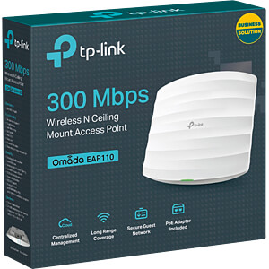 WLAN Access Point 2.4 GHz 300 MBit/s Outdoor TP-LINK EAP110-OUTDOOR