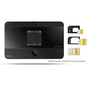 WLAN-N Router 150 MBit/s , 4G-Hotspot, AKKU TP-LINK M7350