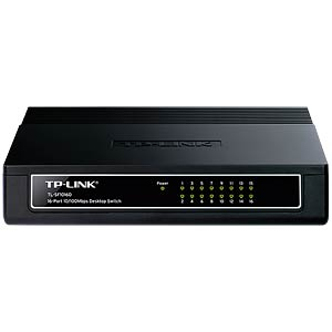 Switch, 16-Port, Fast Ethernet TP-LINK TL-SF1016D