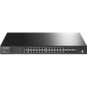 Switch, 28-Port, Gigabit Ethernet TP-LINK T2700G-28TQ