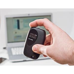 WIFI-N router, 300 Mbit/s, 3G hotspot, battery TP-LINK M5350
