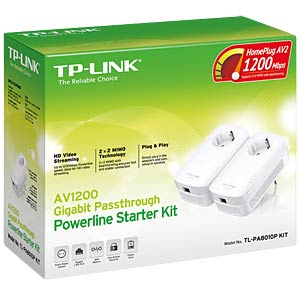 1200 MBit/s Powerline LAN kit – (2 pieces) 1x LAN TP-LINK TL-PA8010PKIT