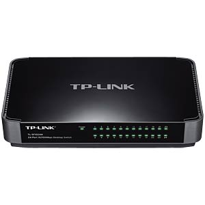 Switch, 24-Port, Fast Ethernet TP-LINK TL-SF1024M