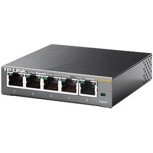 5-port Gigabit Easy Smart Switch, metal enclosure TP-LINK TL-SG105E