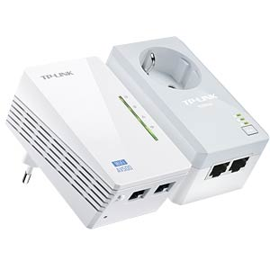 300 Mbps AV500 WIFI-N Powerline LAN kit (2 adapters) TP-LINK TL-WPA4226KIT