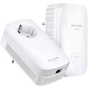 Powerline-Extender Kit, WLAN (2 Geräte) TP-LINK TL-WPA8730KIT