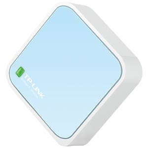 WIFI-N Nano pocket router, 300 MBit/s TP-LINK TL-WR802N