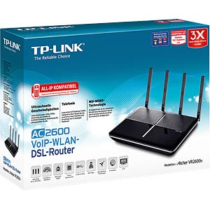 AC2600-VoIP-WLAN-DSL-Router (Annex B) TP-LINK VR2600V