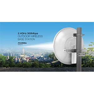 2,4GHz - 300 MBit/s-WLAN-Outdoor-Basisstation TP-LINK WPS210