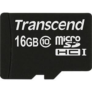 TS16GUSDC10 - MicroSDHC-Speicherkarte 16GB