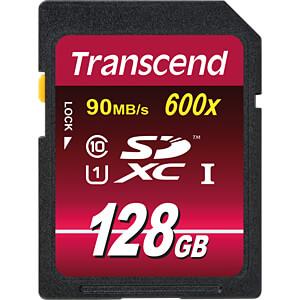 SDXC-Speicherkarte, 128GB Class10 UHS-I 600x Ultimate TRANSCEND TS128GSDXC10U1