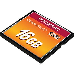 CF-Speicherkarte, 16GB 133x TRANSCEND TS16GCF133