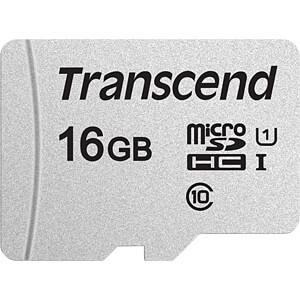 TS16GUSD300S - MicroSDHC-Speicherkarte 16GB