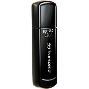 USB-Stick, USB 2.0, 32 GB, JetFlash 350 TRANSCEND TS32GJF350