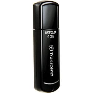 USB-Stick, USB 2.0, 4 GB, JetFlash 350 TRANSCEND TS4GJF350