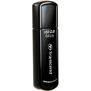 USB-Stick, USB 2.0, 64 GB, JetFlash 350 TRANSCEND TS64GJF350