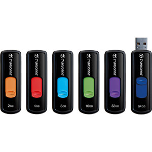USB-Stick, USB 2.0, 8 GB, JetFlash 500 TRANSCEND TS8GJF500