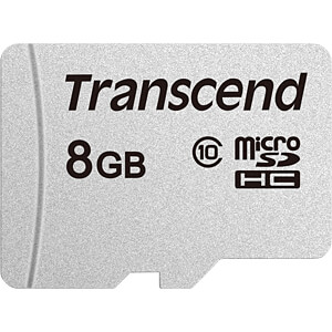 TS8GUSD300S - MicroSDHC-Speicherkarte 8GB
