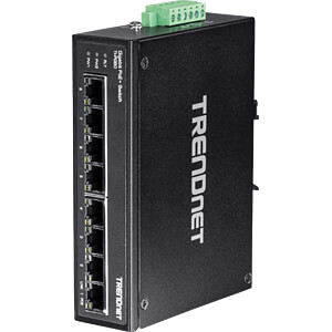 Switch, 8-Port, Gigabit Ethernet, PoE TRENDNET TI-PG80