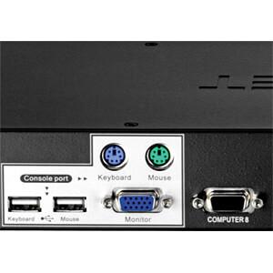 8-Port KVM-Switch TRENDNET TK-803R