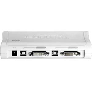 2 PORT DVI/USB/Audio KVM Switch KIT TRENDNET TK-204UK