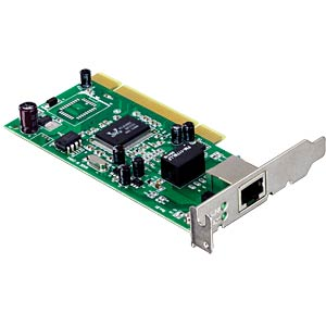 10/100/1000 MBit/s PCI Adapter Low Profile TRENDNET TEG-PCITXRL