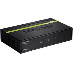 Switch, 5-Port, Gigabit Ethernet TRENDNET TEG-S50G