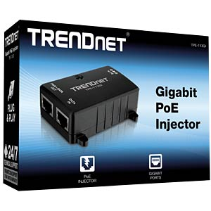 Power over Ethernet (POE) Gigabit Injektor TRENDNET TPE-113GI