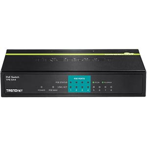 Switch, 8-Port, Fast Ethernet, PoE TRENDNET TPE-S44