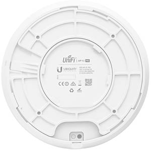 Wi-Fi access point, 2.4/5 GHz, 1750 Mbps, includes PoE injector UBIQUITI UAP-AC-PRO