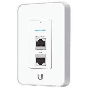 UniFi UniFi In-Wall AP 150 MBit/s -  2,4 GHz UBIQUITI UAP-IW