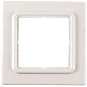 Cover frame 1-way, 80 x 80 x 5 mm,  RAL9010 DAETWYLER 1400830