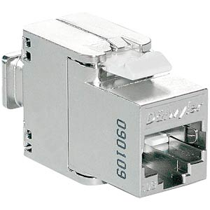 RJ45 module shielded Cat.6/E, tool-free DAETWYLER 418054