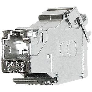 RJ45 module shielded Cat.6a/E, 180° mounting type DAETWYLER 440004