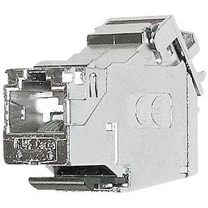 RJ45 Modul geschirmt Cat.6a/E, 180° Montageart DAETWYLER 440004