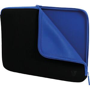 Laptop, Schutzhülle, Neopren, Elite, 16 V7 CSE1-BLU-9E