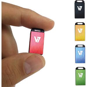 USB-stick, USB 2.0, 16 GB, Nano V7 VU216GCR-BLU-2E