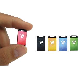 USB-Stick, USB 2.0, 16 GB, Nano V7 VU216GCR-RED-2E
