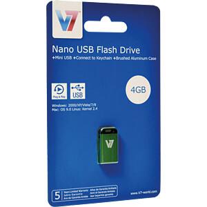 USB-Stick, USB 2.0, 32 GB, Nano V7 VU232GCR-GRE-2E