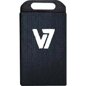 USB-Stick, USB 2.0, 4 GB, Nano V7 VU24GCR-BLK-2E