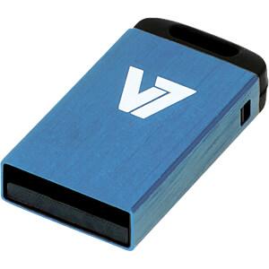 USB-Stick, USB 2.0, 4 GB, Nano V7 VU24GCR-BLU-2E