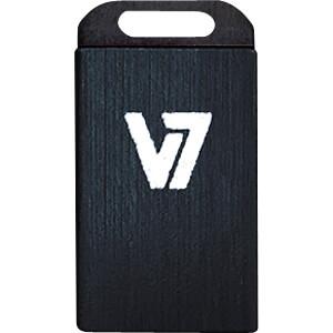 USB-Stick, USB 2.0, 8 GB, Nano V7 VU28GCR-BLK-2E