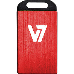 USB-Stick, USB 2.0, 8 GB, Nano V7 VU28GCR-RED-2E