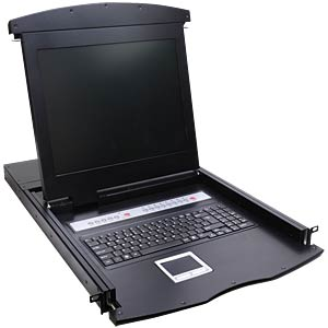 17-inch LCD KVM console with keyboard VALUE 26.99.0171