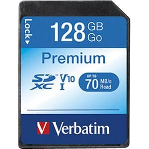 SDXC-Speicherkarte 128GB, Verbatim Class 10 - U1 VERBATIM 44025