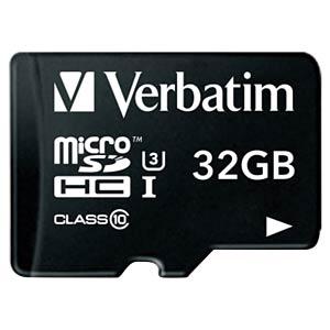 MicroSDHC-kaart 32GB - Verbatim - Class 10 - U3 VERBATIM 47041