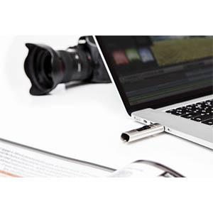USB-Stick, USB 3.0, 128 GB, VX400 VERBATIM 47690