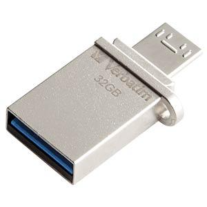 USB-Stick, USB 3.0, 32 GB, Store´n´Go OTG VERBATIM 49826